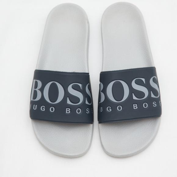 41ac1f17b Hugo Boss Shoes | Solar Slide Sandal Flip Flops Slides 8 | Poshmark